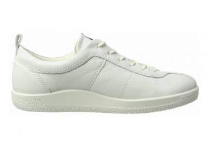 Ecco Soft 1 Sneaker White