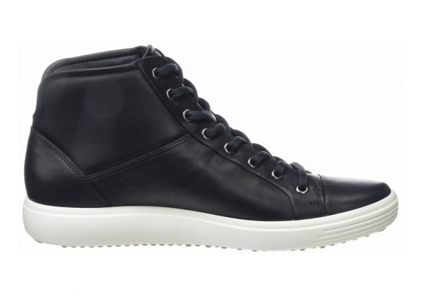 Ecco Soft 7 High Top Black/Black