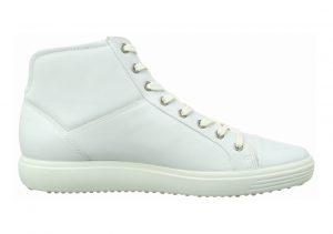 Ecco Soft 7 High Top Weiß (White 1007)