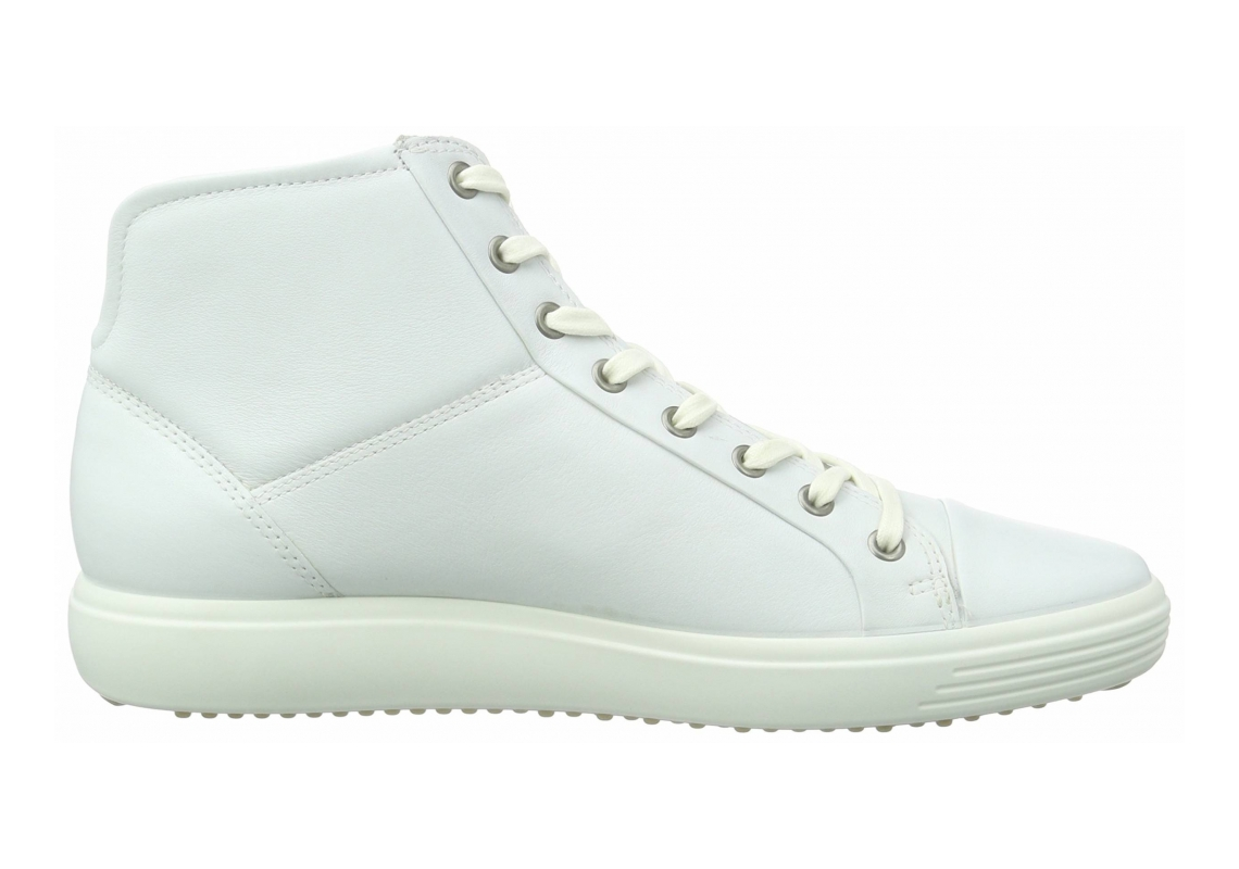 Ecco Soft 7 High Top Weiß (White 1007)