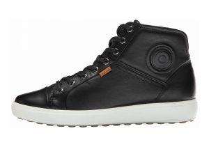 Ecco Soft 7 High Top Black