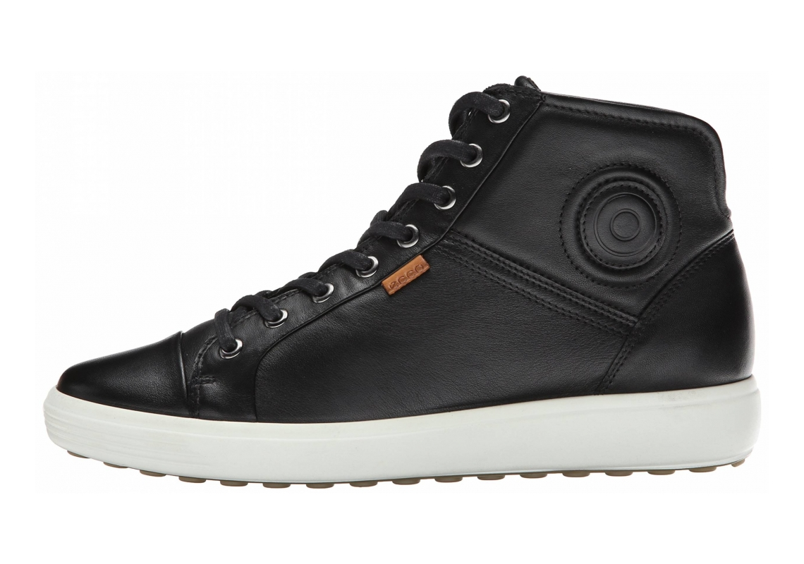 Ecco Soft 7 High Top Black