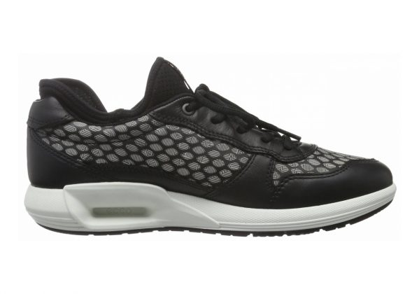 Ecco CS16 Low Schwarz (Black/White50669)