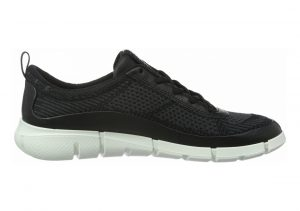Ecco Intrinsic Knit Black/Moonless