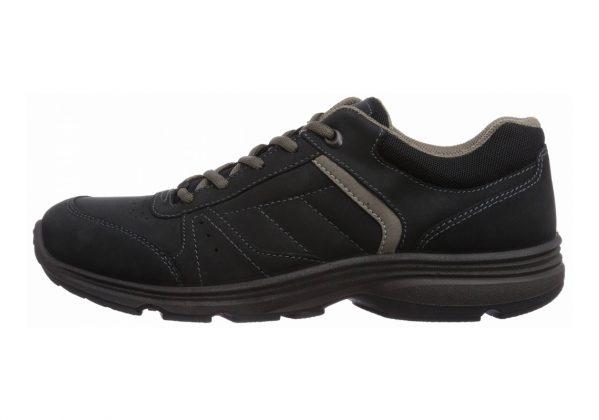 Ecco Light IV Schwarz (Black/Black Oil Nubuck/Textile51707)