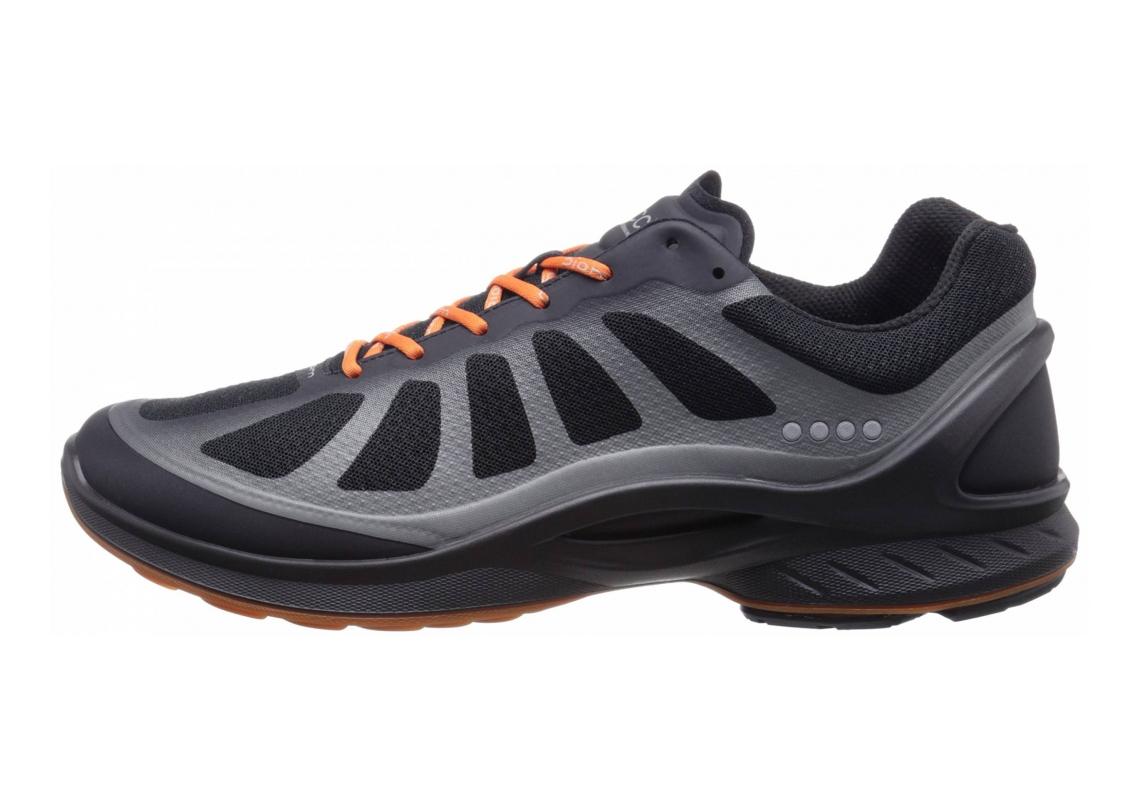 Ecco BIOM Fjuel Racer Black/Black/Orange