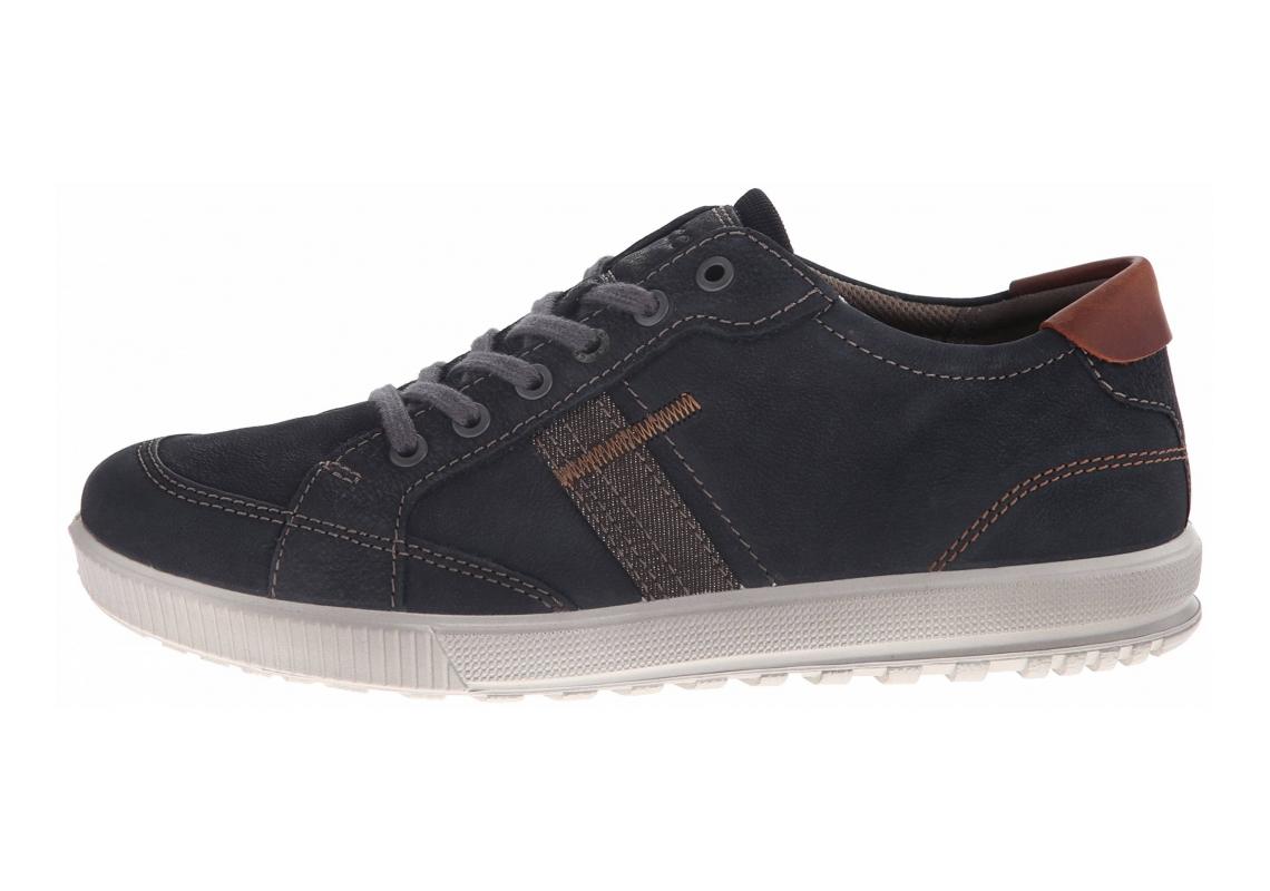 Ecco Ennio Retro Sneaker Black/Cognac