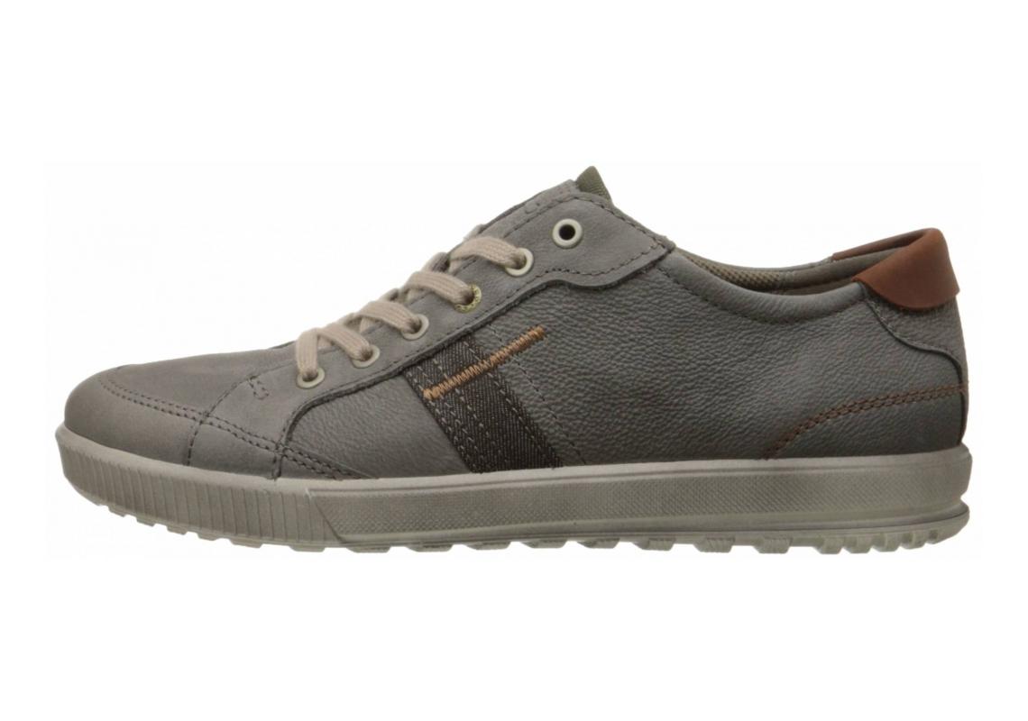 Ecco Ennio Retro Sneaker Warm Grey/Cognac