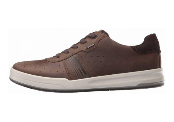 Ecco Jack Sneaker Cocoa Brown