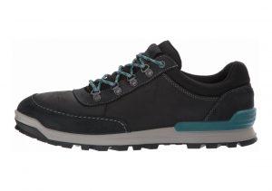 Ecco Oregon Retro Sneaker Black/Black
