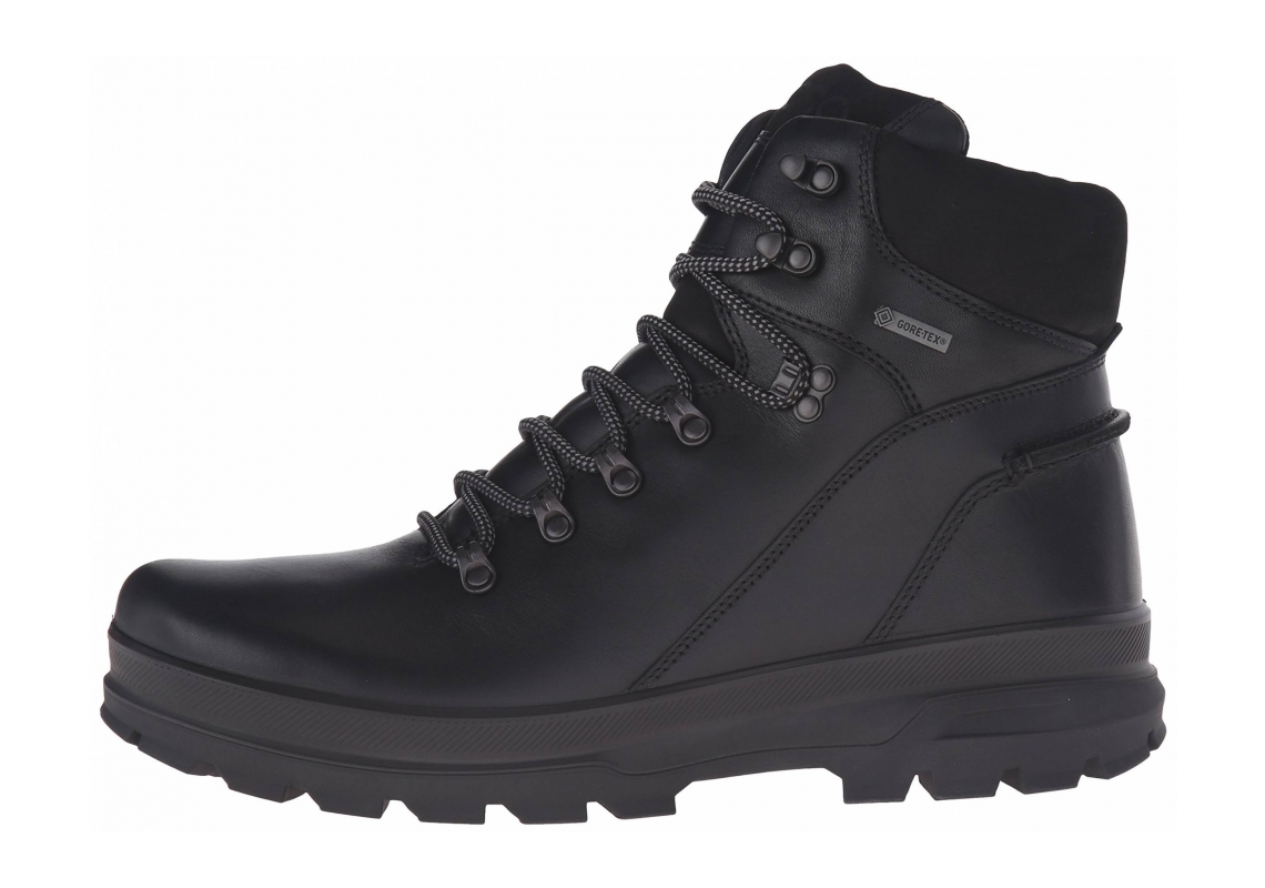 Ecco Rugged Track GTX High Black