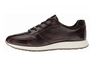 Ecco Sneak Trend Black Premium Leather
