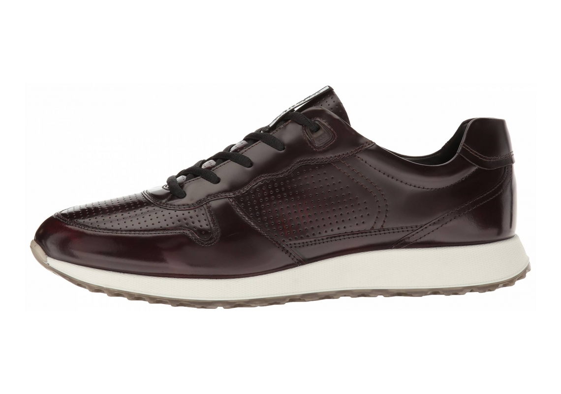 Ecco Sneak Trend Black Premium Leather