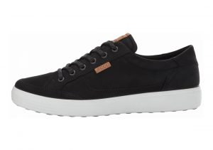 Ecco Soft 7 Sneaker Black Nubuck