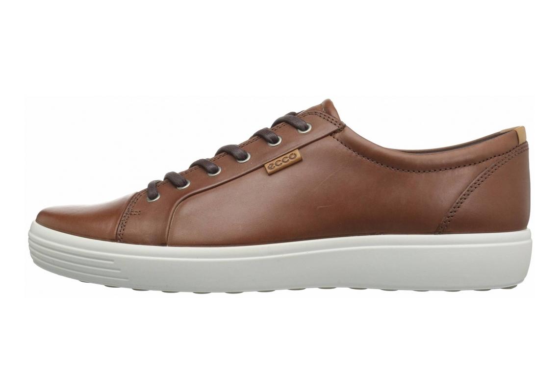 Ecco Soft 7 Sneaker Mahogany