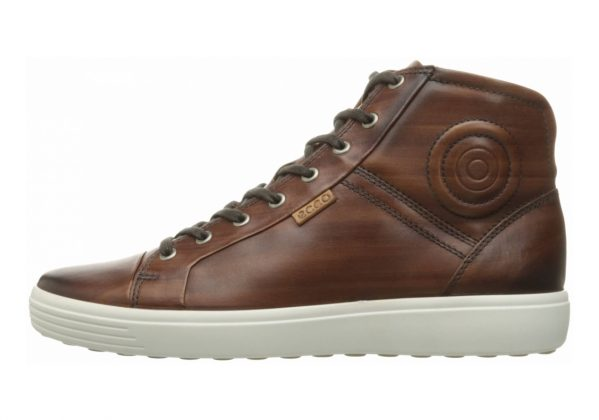 Ecco Soft 7 High Top Brown
