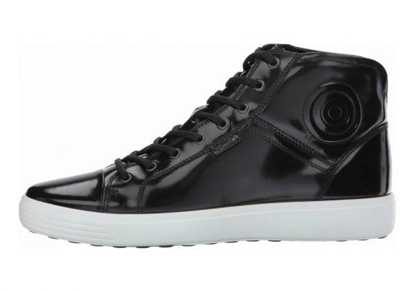 Ecco Soft 7 Premium Boot Black Patent