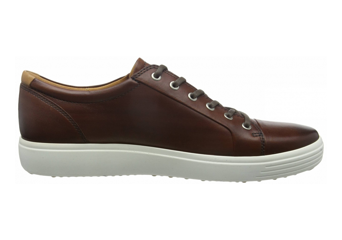 Ecco Soft 7 Premium Tie Brown
