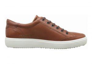 Ecco Soft 7 Sneaker Cognac