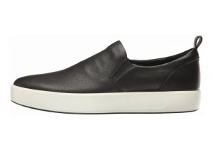 Ecco Soft 8 Slip On Black