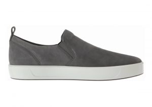 Ecco Soft 8 Slip On Dark Shadow