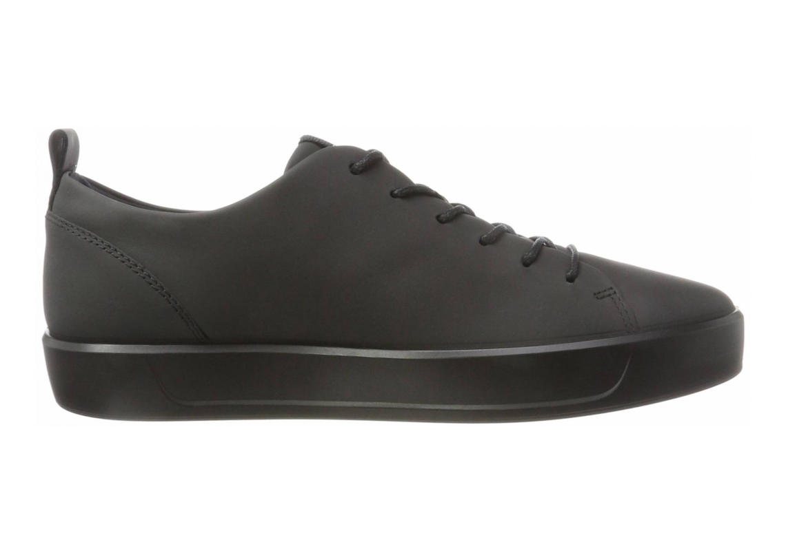 Ecco Soft 8 Tie BLACK