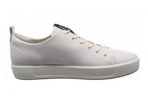 Ecco Soft 8 Tie White