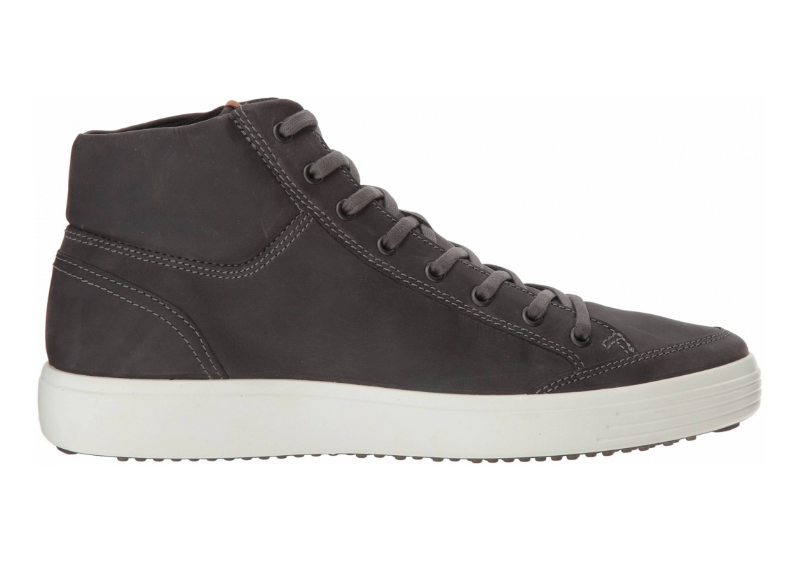 Ecco Soft 7 High Top Titanium