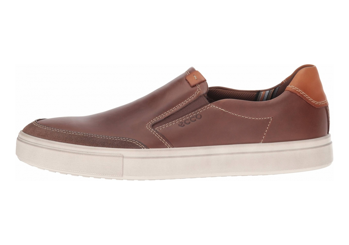 Ecco Kyle Slip On Cocoa Brown