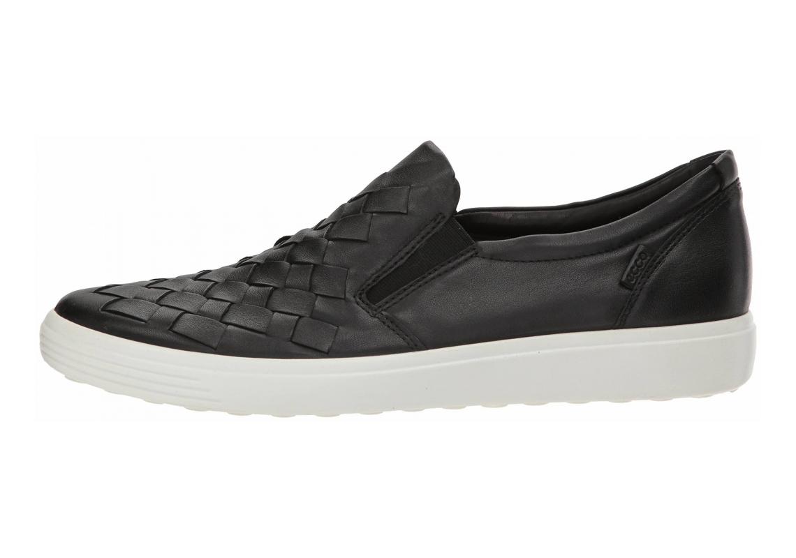 Ecco Soft 7 Woven Black