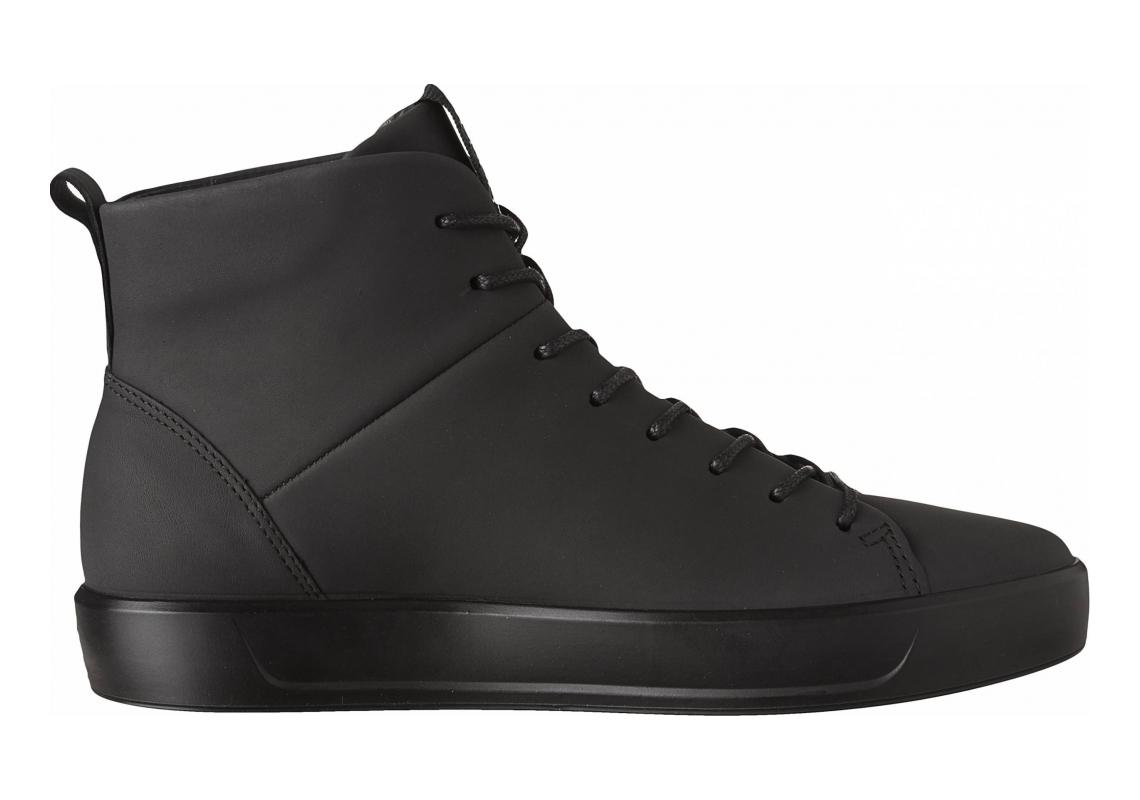 Ecco Soft 8 High Top Black/Black