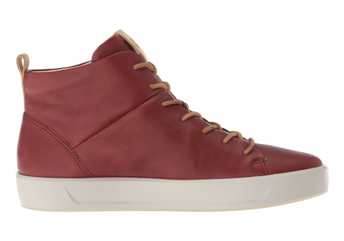 Ecco Soft 8 High Top Red