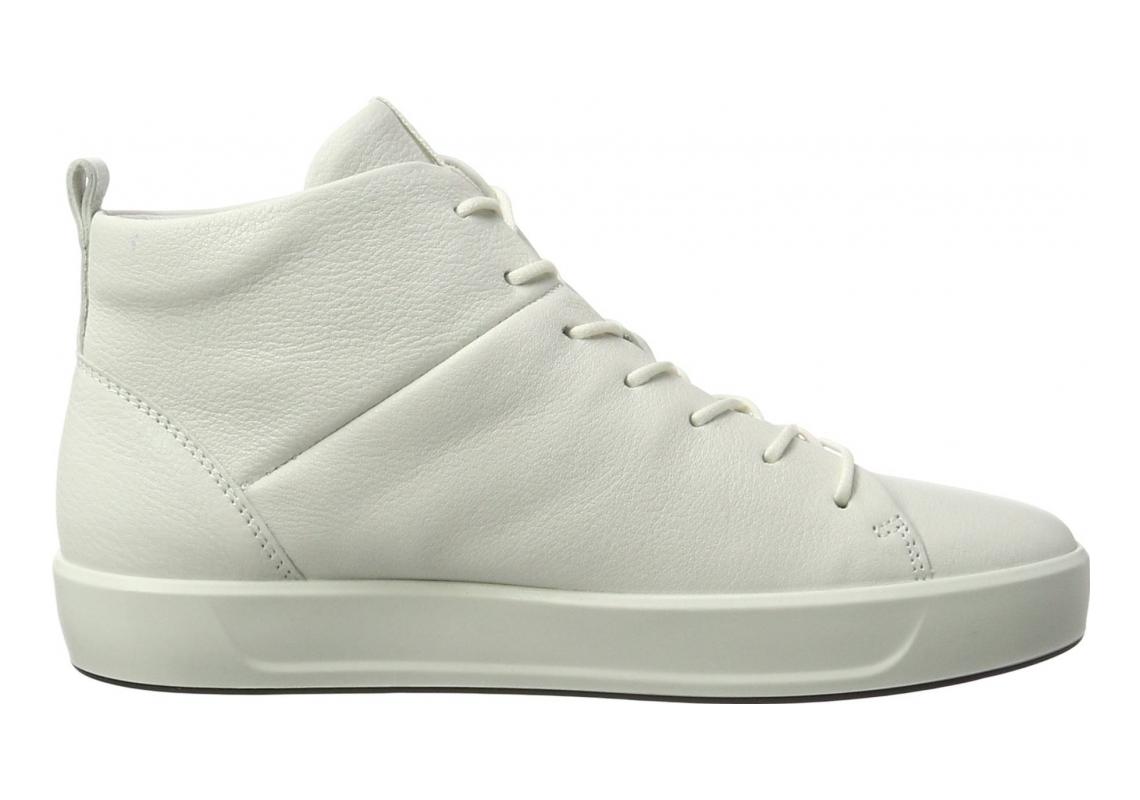 Ecco Soft 8 High Top White