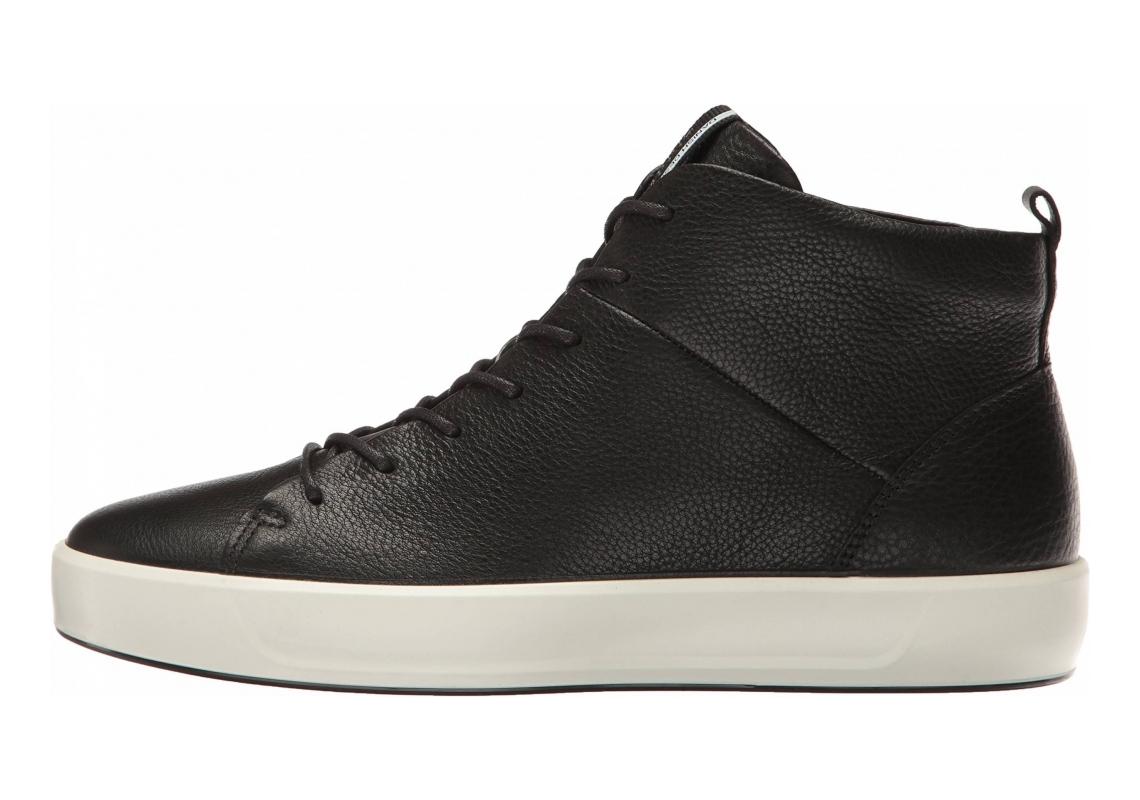 Ecco Soft 8 High Top Black