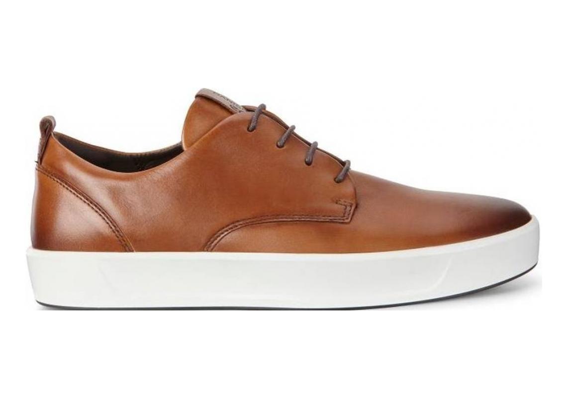 Ecco Soft 8 Tie Brown