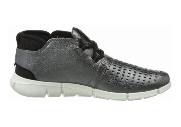 Ecco Intrinsic Chukka Dark Shadow Metallic