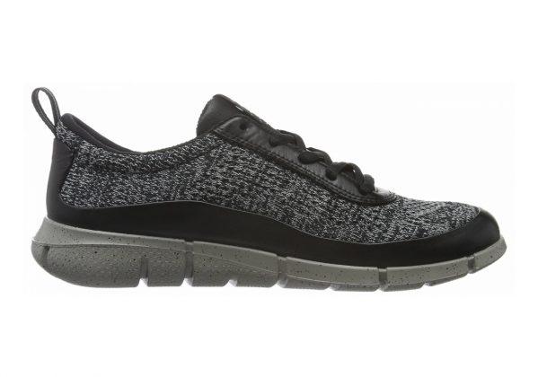 Ecco Intrinsic Knit Black/Concrete