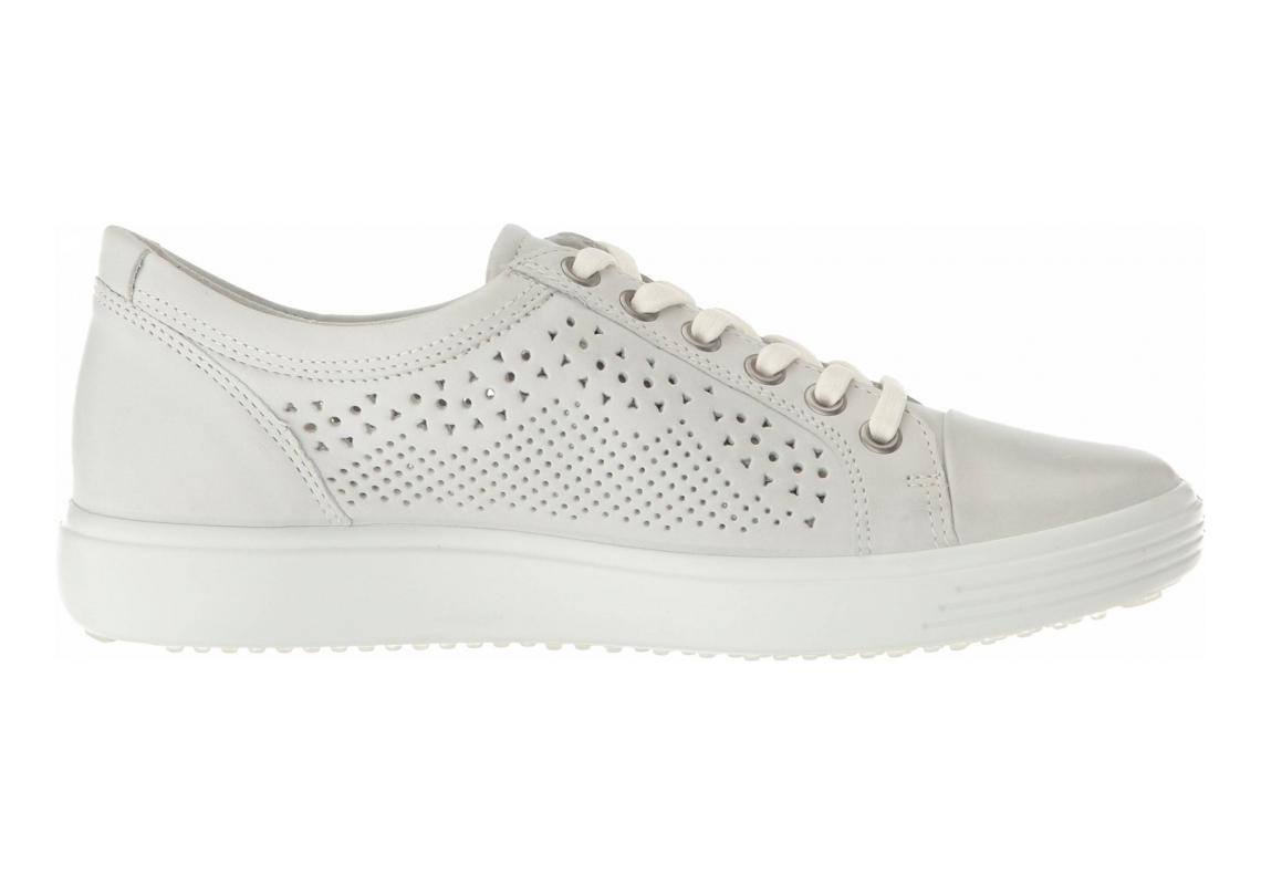 Ecco Soft 7 Trend Tie Shadow White