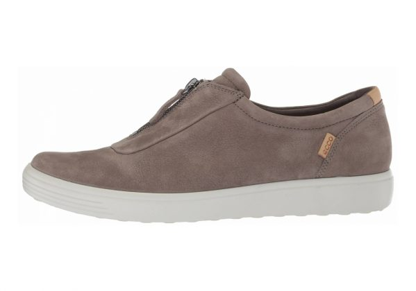 Ecco Soft 7 Zip Brown