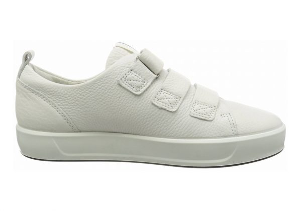 Ecco Soft 8 Strap White