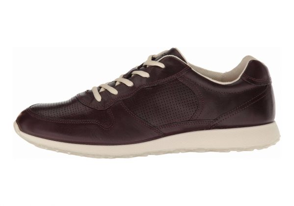 Ecco Sneak Tie Bordeaux