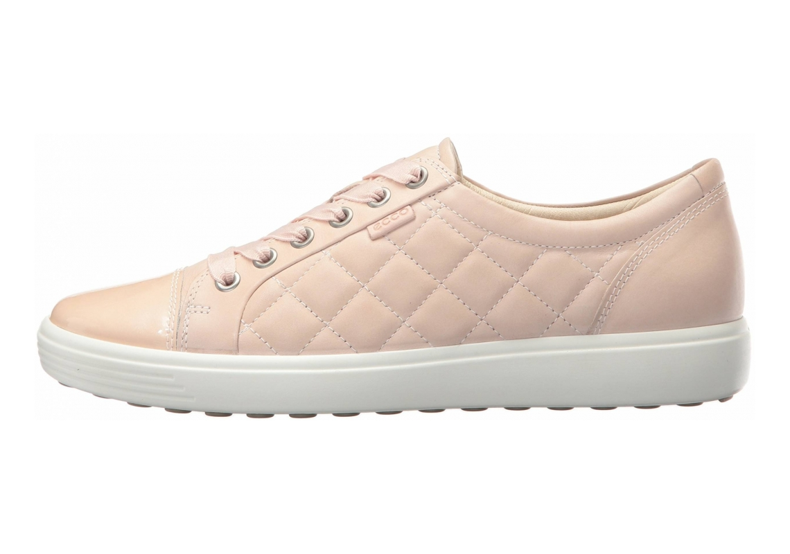 Ecco Soft 7 Quilted Tie Pink