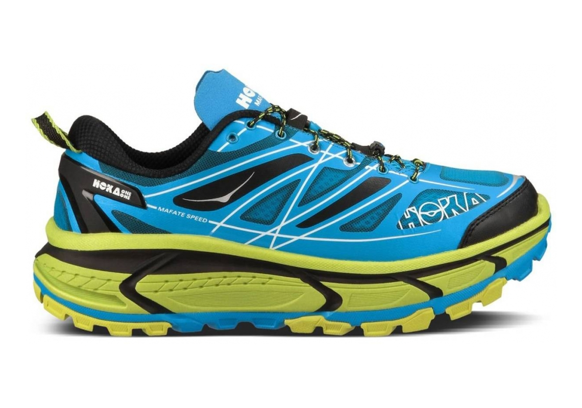 Hoka One One Mafate Speed Blue