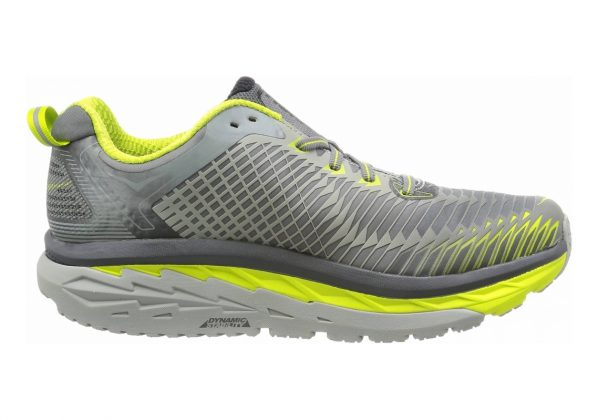 Hoka One One Arahi Cool Grey / Acid / Black