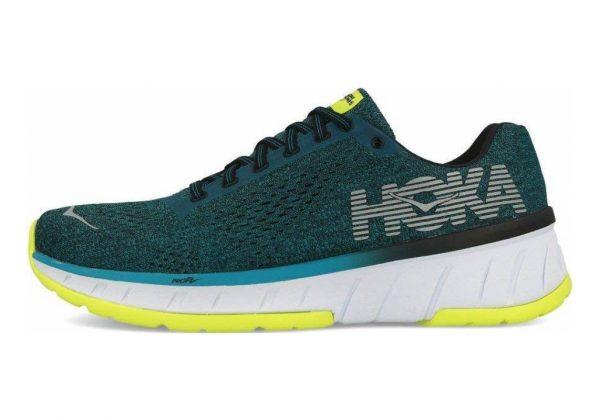 Hoka One One Cavu Blue / Green