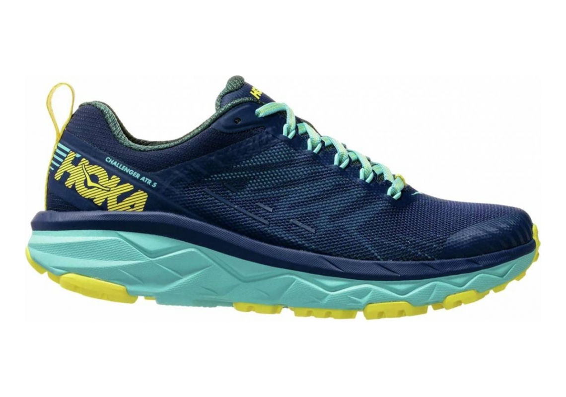 Hoka One One Challenger 5 ATR Blue / Navy Blue / Yellow