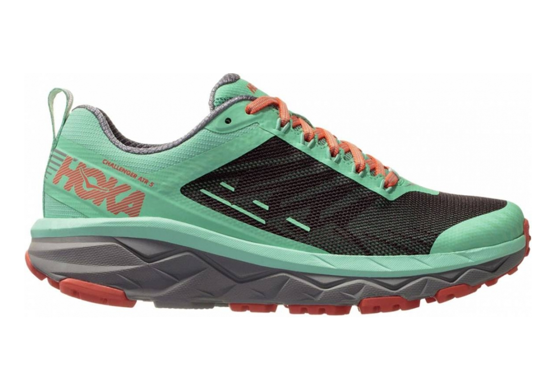 Hoka One One Challenger 5 ATR Green / Grey / Orange