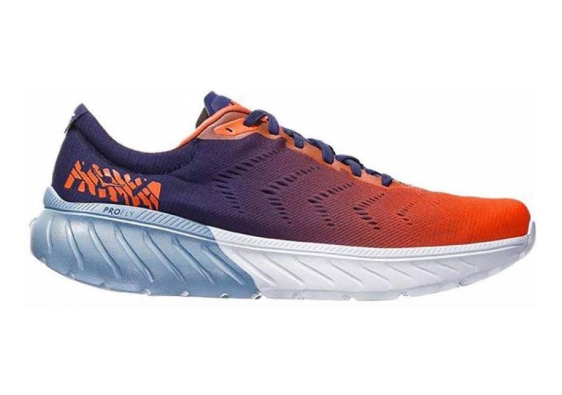 Hoka One One Mach 2 Blue / Orange