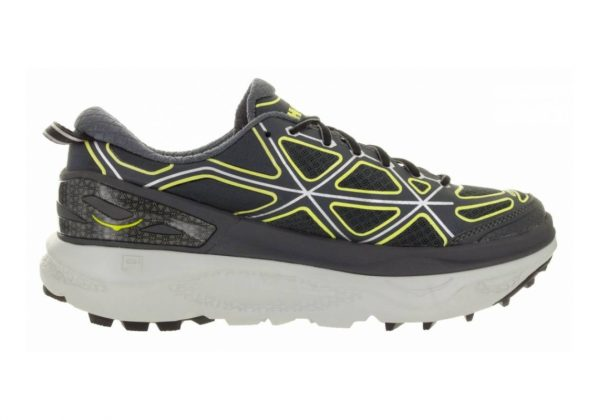 Hoka One One Mafate 4 GREY / CITRUS