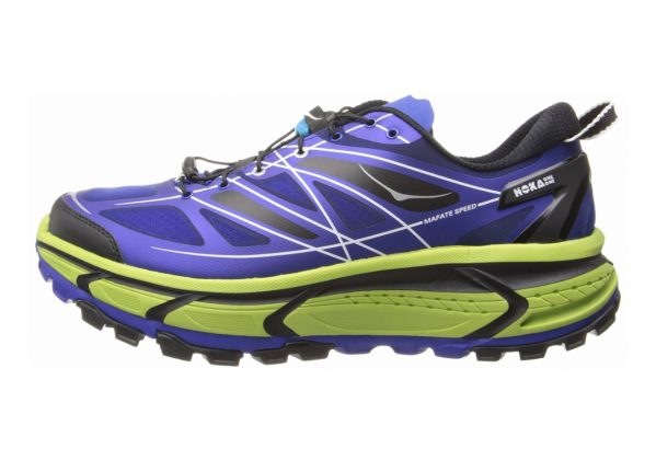Hoka One One Mafate Speed Blue/Lime/Black